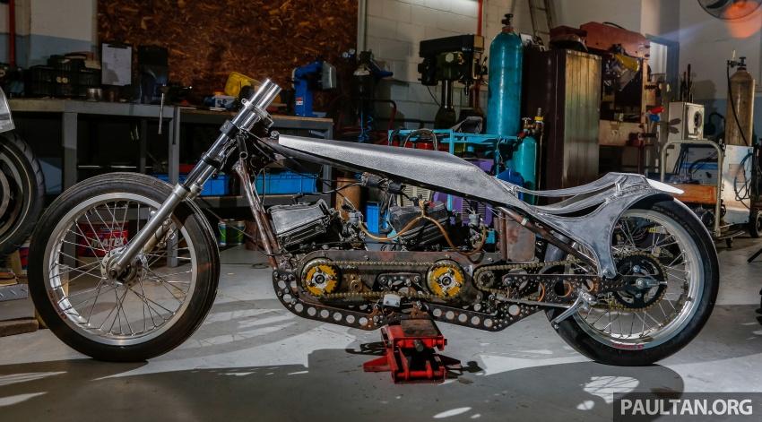 Yamaha RXZ TwinBoss dipacu dua enjin, bakal dibawa pulang oleh pengunjung bertuah Art Of Speed 2017 Image #680043