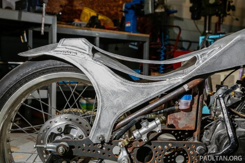 Yamaha RXZ TwinBoss dipacu dua enjin, bakal dibawa pulang oleh pengunjung bertuah Art Of Speed 2017 Image #680047