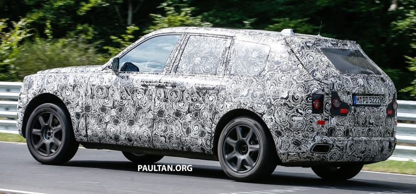 SPIED: Rolls-Royce Cullinan SUV at the Nurburgring Image #689192