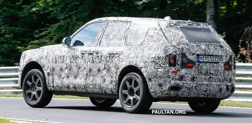 SPIED: Rolls-Royce Cullinan SUV at the Nurburgring Image #689193