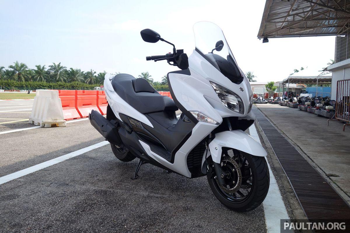 2017 Suzuki Burgman 400 ABS in Malaysia - RM47,700