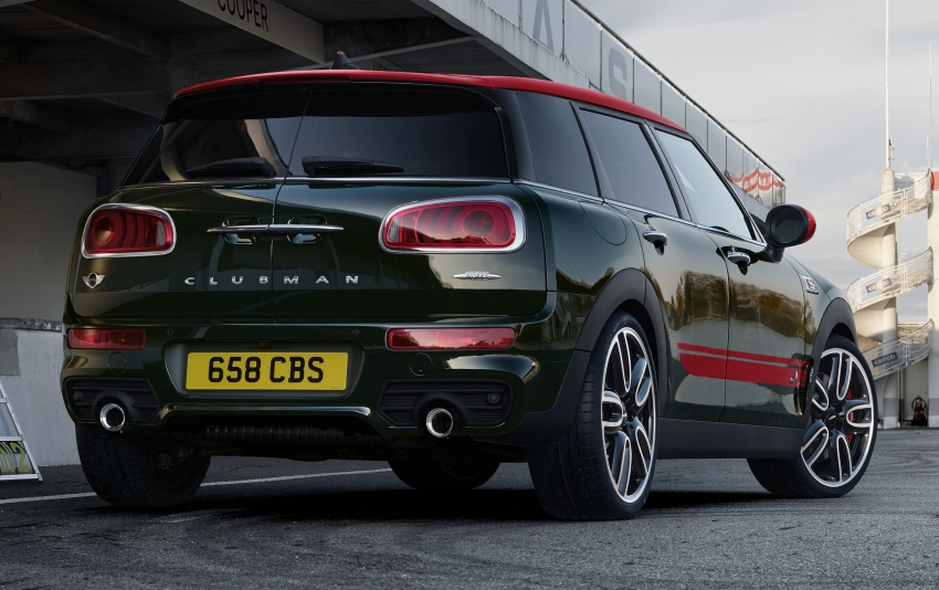 MINI John Cooper Works Clubman launched in Malaysia – 231 hp, 0-100 km/h in 6.3 secs, RM328,888 Image #684020