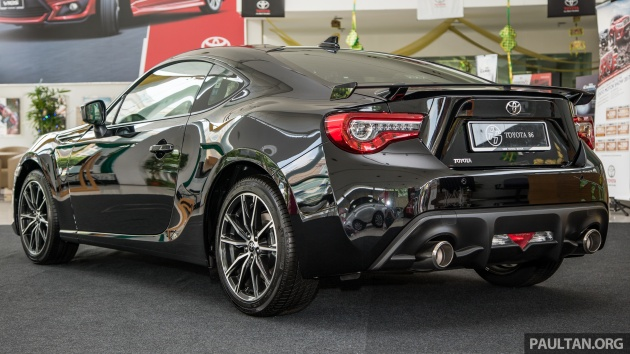 Toyota 86 Facelift Now In Malaysia Rm258k To Rm264k
