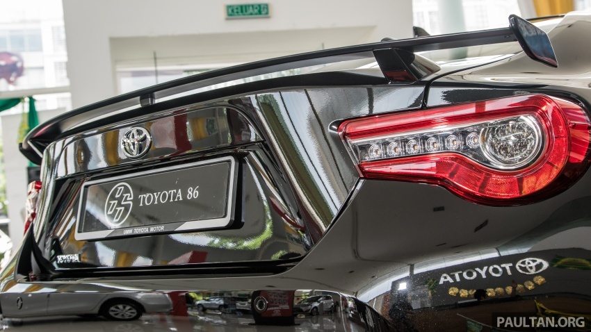 Toyota 86 facelift kini di Malaysia – RM258k ke RM264k Image #687221