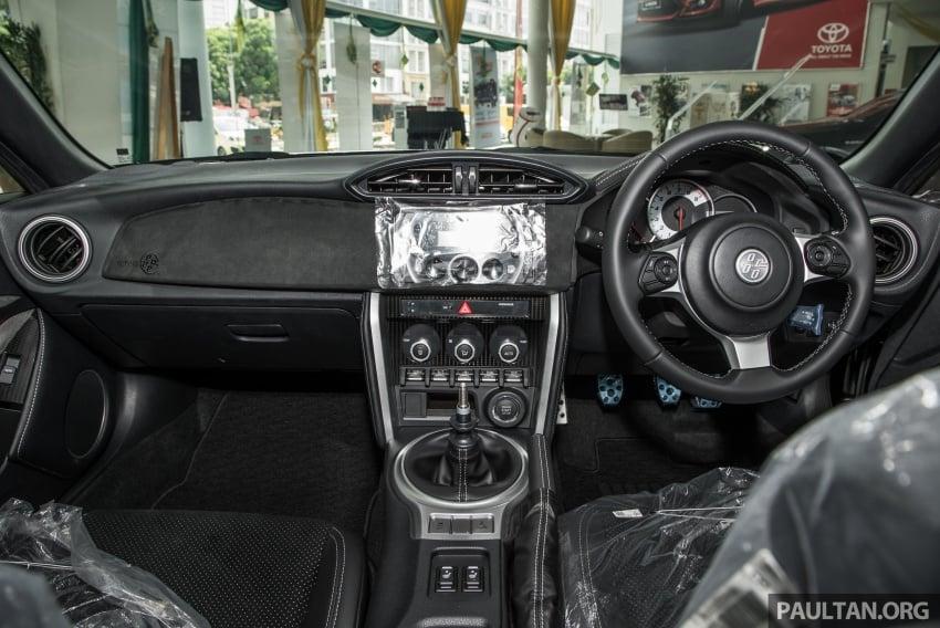 Toyota 86 facelift kini di Malaysia – RM258k ke RM264k Image #687226