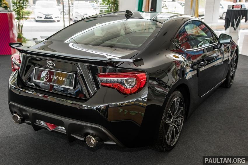 Toyota 86 facelift kini di Malaysia – RM258k ke RM264k Image #687204