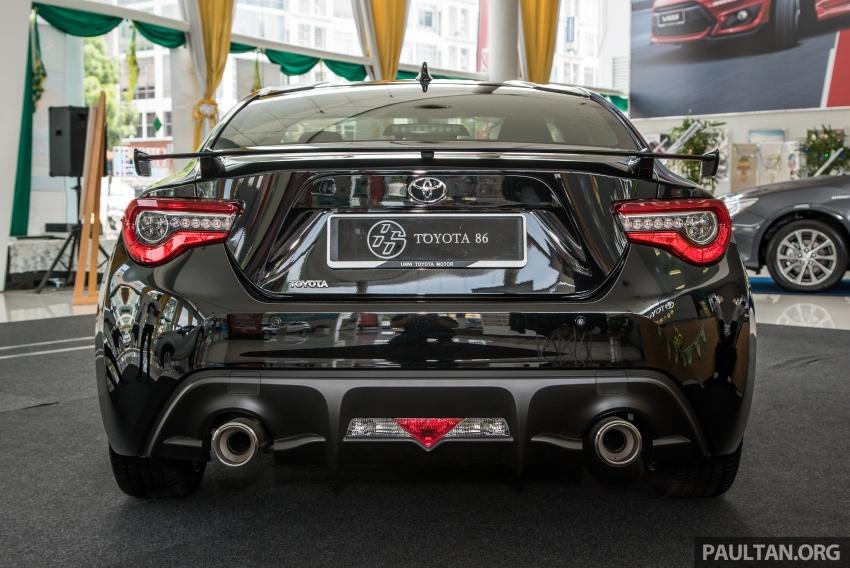 Toyota 86 facelift kini di Malaysia – RM258k ke RM264k Image #687200