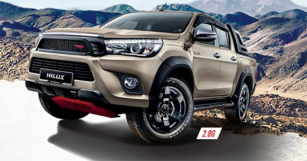 Toyota Official Site >> Toyota Hilux Now Available With Rm4 800 Trd Aerokit