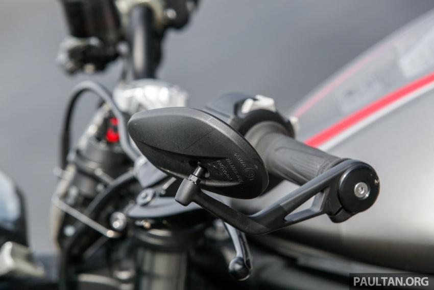 TUNGGANG UJI: Triumph Street Triple RS765 – punya keseimbangan baik, prestasi terus berkemampuan Image #690120