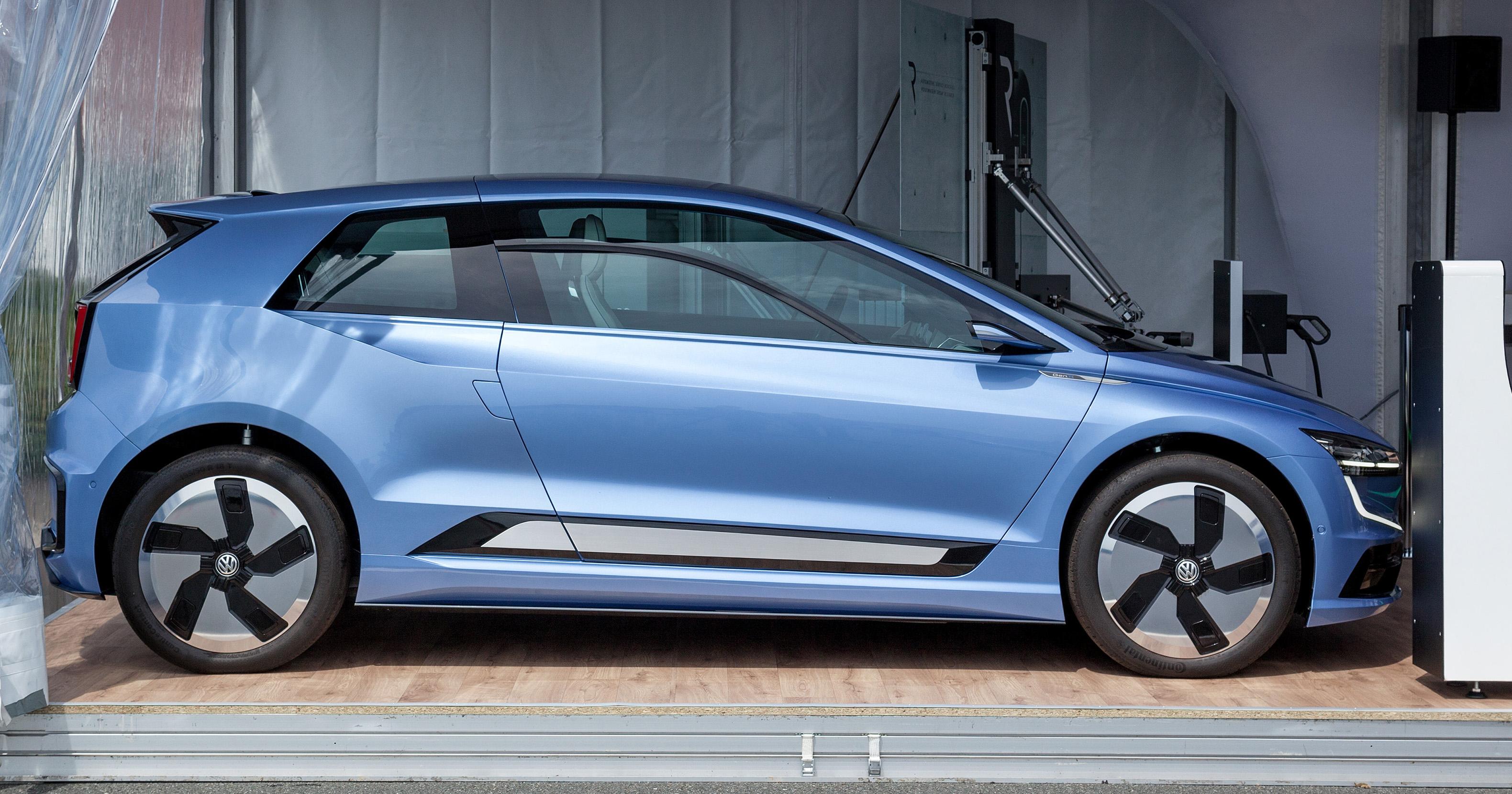 Volkswagen Gen E Concept Preview For Next Golf