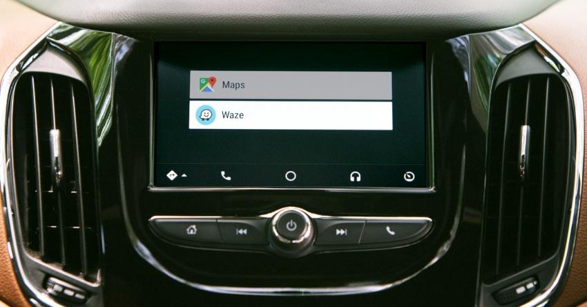 Waze kini boleh diguna melalui aplikasi Android Auto Image #688816