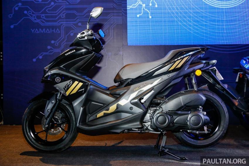 Yamaha NVX 155 dilancarkan di Malaysia – RM10,500 Image #681748