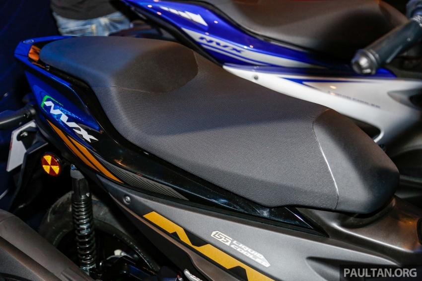 2017 Yamaha NVX 155 cc scooter in Malaysia, RM10.5k Image #681789