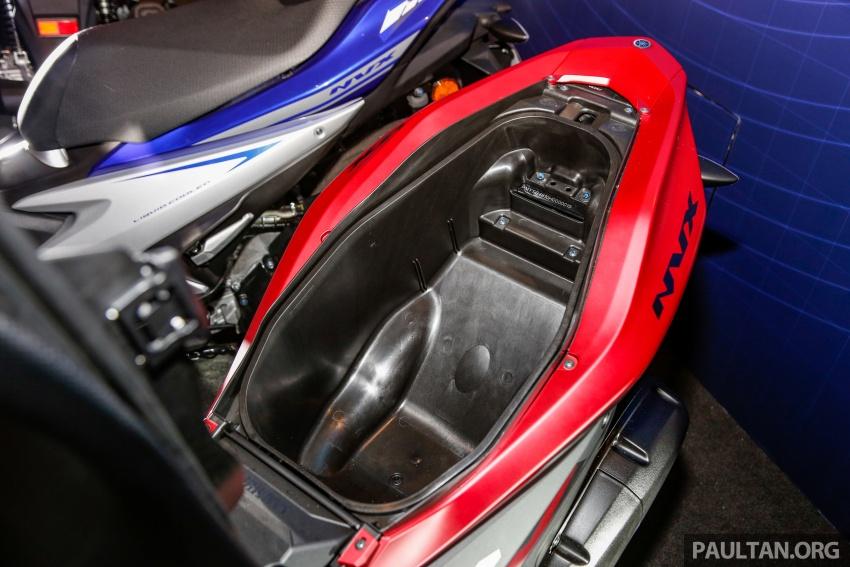 Yamaha NVX 155 dilancarkan di Malaysia – RM10,500 Image #681762