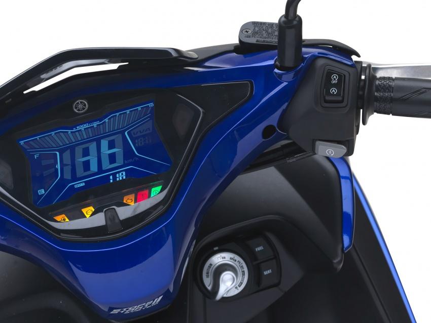 Yamaha NVX 155 dilancarkan di Malaysia – RM10,500 Image #681700