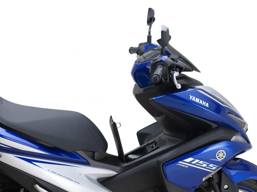 Yamaha NVX 155 dilancarkan di Malaysia – RM10,500 Image #681694