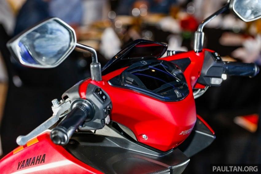 2017 Yamaha NVX 155 cc scooter in Malaysia, RM10.5k Image #681796
