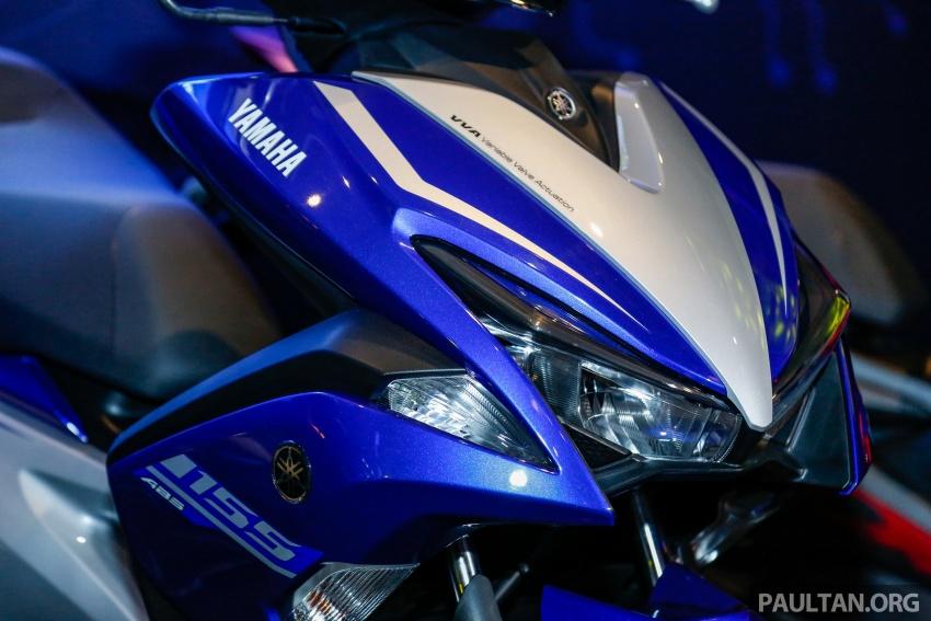Yamaha NVX 155 dilancarkan di Malaysia – RM10,500 Image #681754