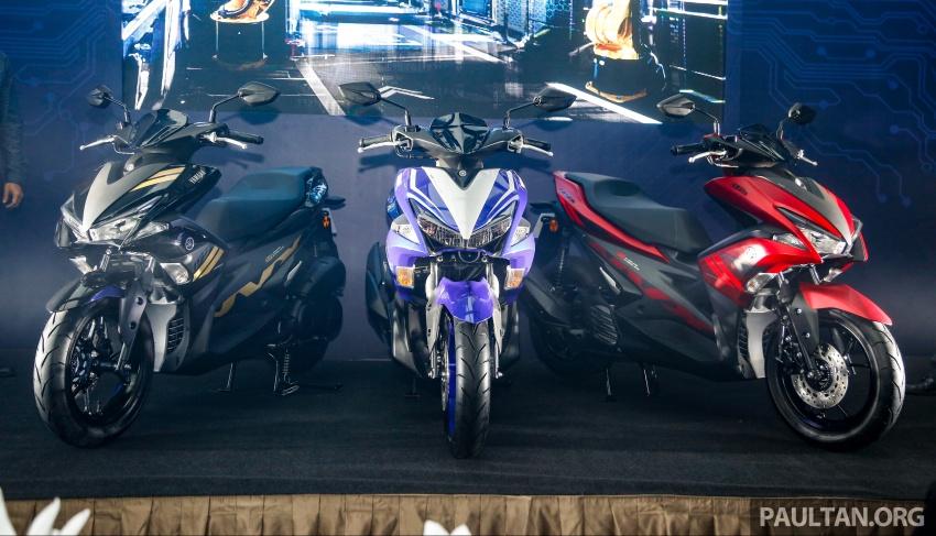 Yamaha NVX 155 dilancarkan di Malaysia – RM10,500 Image #681661