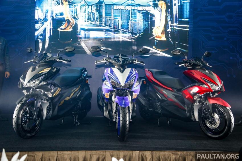 2017 Yamaha NVX 155 cc scooter in Malaysia, RM10.5k Image #681653
