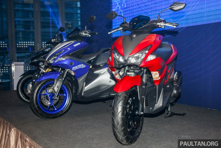 2017 Yamaha NVX 155 cc scooter in Malaysia, RM10.5k Image #681655