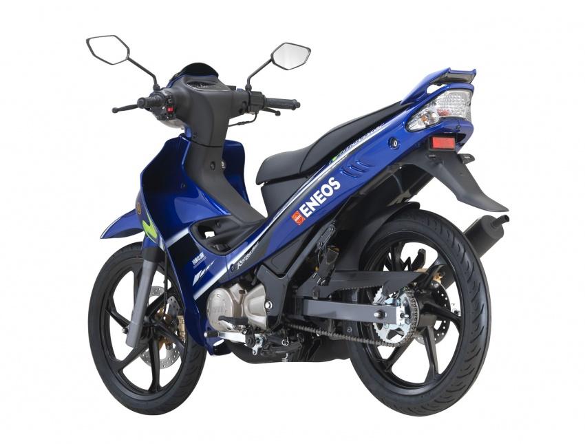 Yamaha Y125ZR edisi terhad Movistar MotoGP  dilancar untuk pasaran Malaysia – RM8,846 termasuk GST Image #684925