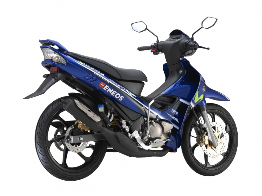 Yamaha Y125ZR edisi terhad Movistar MotoGP  dilancar untuk pasaran Malaysia – RM8,846 termasuk GST Image #684928