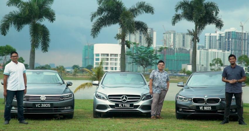 Driven Web Series 2017 #1: plug-in hybrid sedans – BMW 330e vs Mercedes C350e vs VW Passat 2.0 TSI Image #690714