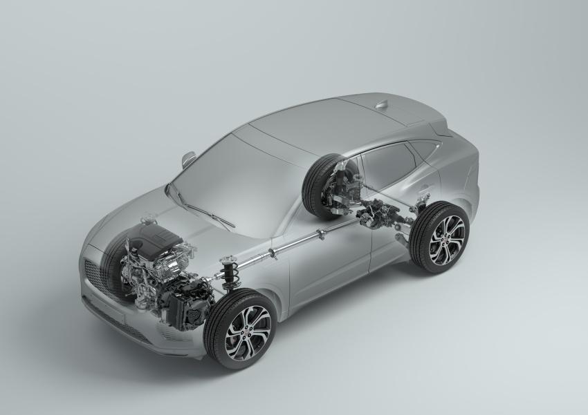 Jaguar E-Pace diperkenalkan – SUV kompak dengan pilihan dua enjin Ingenium, kuasa antara 150 ke 300 PS Image #683220