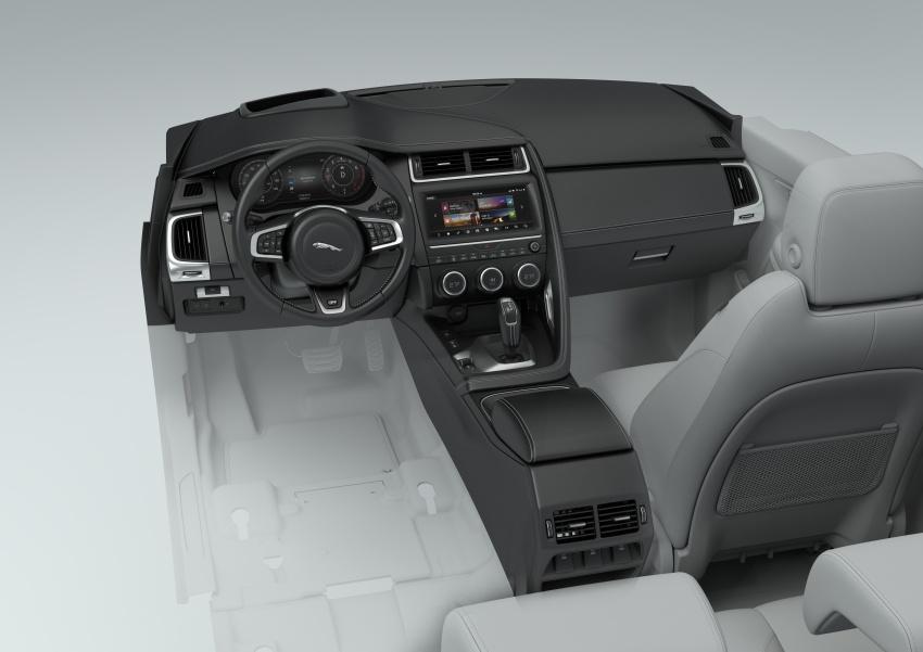 Jaguar E-Pace diperkenalkan – SUV kompak dengan pilihan dua enjin Ingenium, kuasa antara 150 ke 300 PS Image #683222