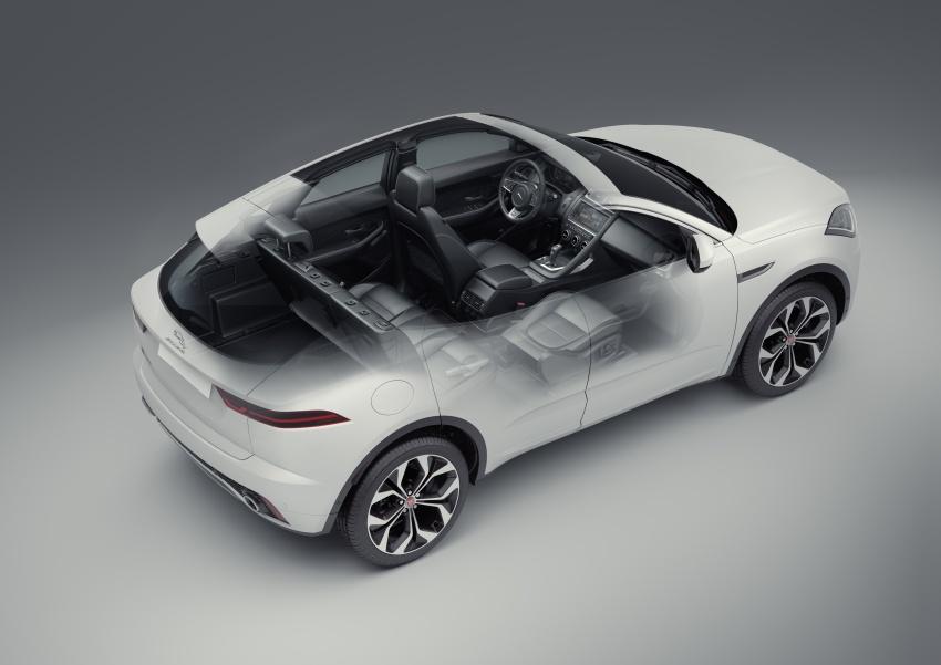 New Jaguar E-Pace compact SUV – an X1, Q3 rival Image #683029