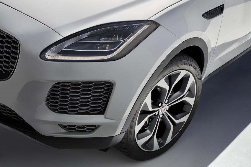 New Jaguar E-Pace compact SUV – an X1, Q3 rival Image #683016