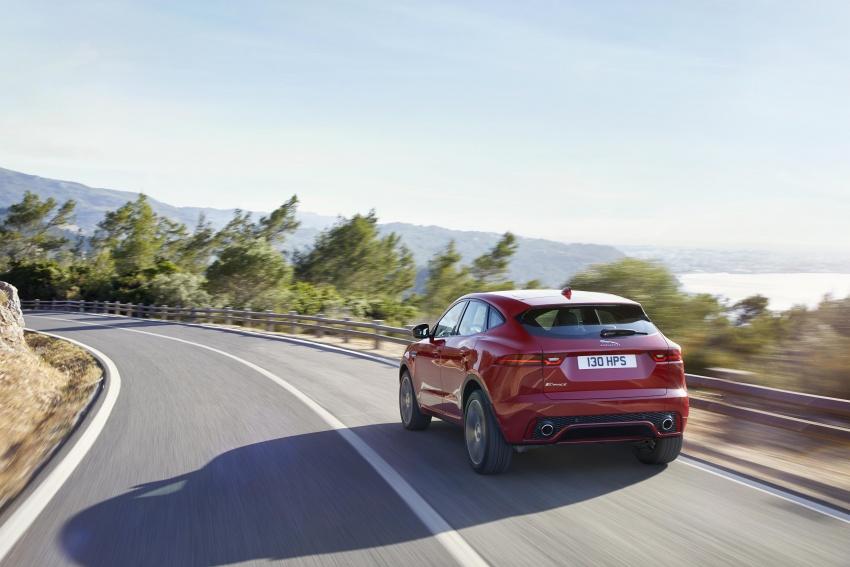 New Jaguar E-Pace compact SUV – an X1, Q3 rival Image #682961