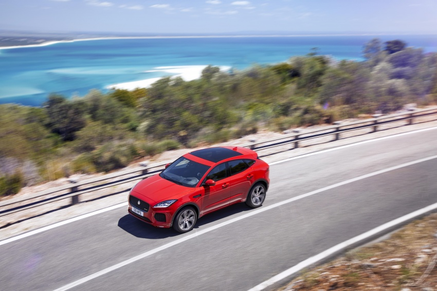 New Jaguar E-Pace compact SUV – an X1, Q3 rival Image #682962