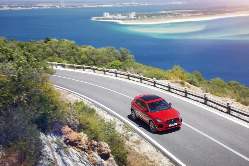New Jaguar E-Pace compact SUV – an X1, Q3 rival Image #682963