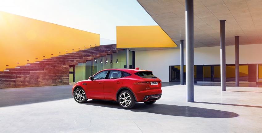 New Jaguar E-Pace compact SUV – an X1, Q3 rival Image #682979