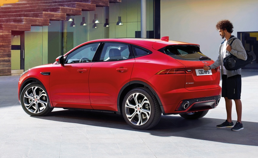 New Jaguar E-Pace compact SUV – an X1, Q3 rival Image #683004