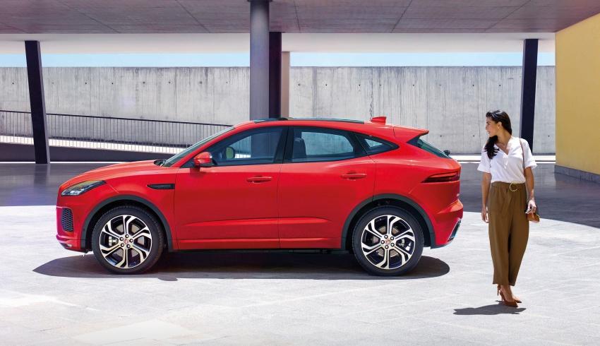 New Jaguar E-Pace compact SUV – an X1, Q3 rival Image #683005