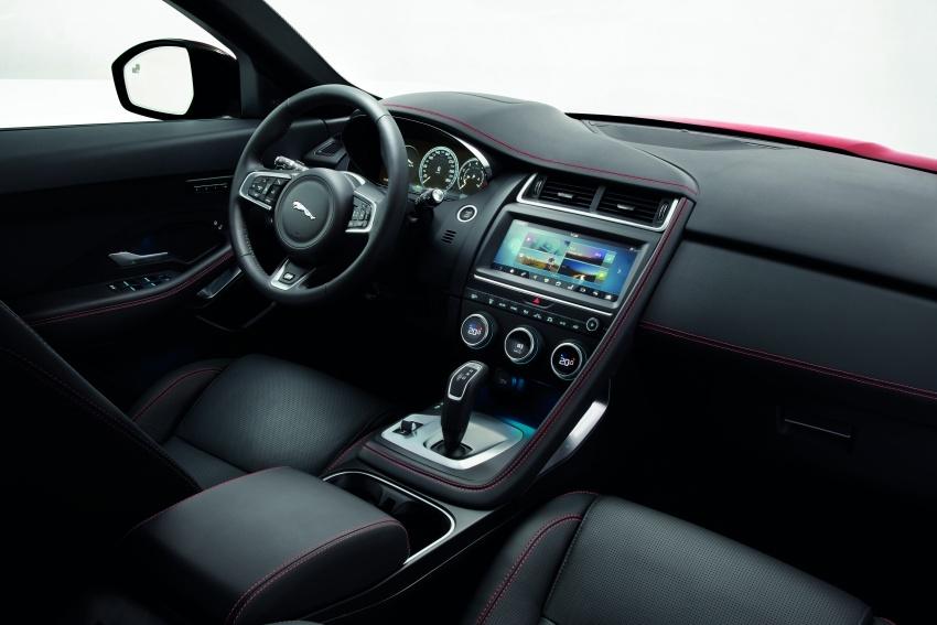 New Jaguar E-Pace compact SUV – an X1, Q3 rival Image #683037
