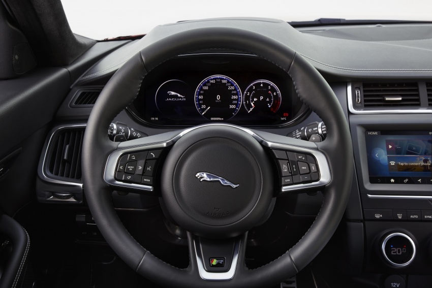 New Jaguar E-Pace compact SUV – an X1, Q3 rival Image #683062
