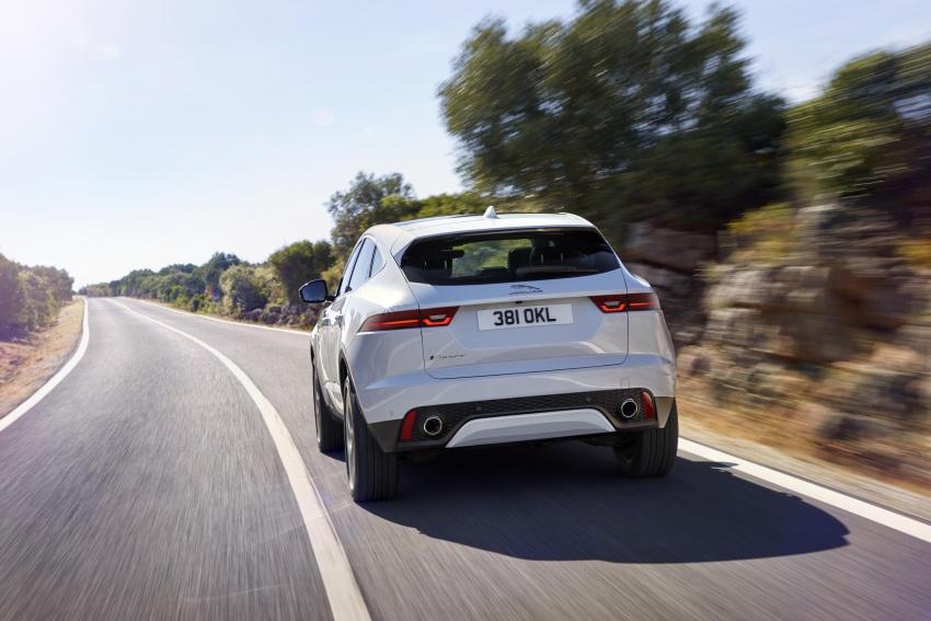 New Jaguar E-Pace compact SUV – an X1, Q3 rival Image #682968
