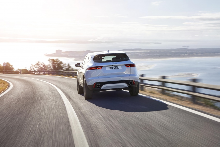 New Jaguar E-Pace compact SUV – an X1, Q3 rival Image #682970