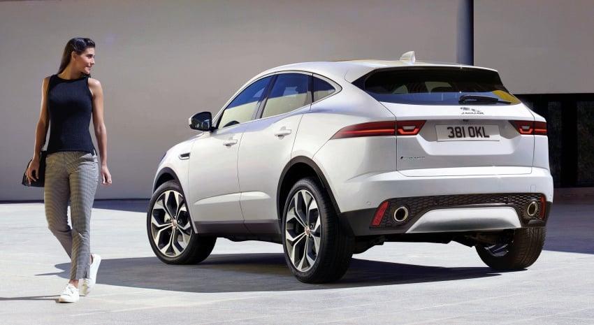 New Jaguar E-Pace compact SUV – an X1, Q3 rival Image #682994