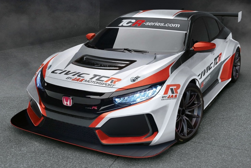New Honda Civic Type R TCR to go racing next year Image #684487
