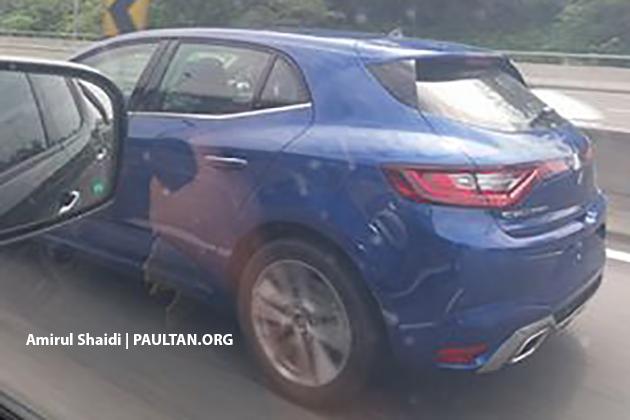 SPYSHOT: Renault Megane IV atas jalan di Malaysia Image #682683