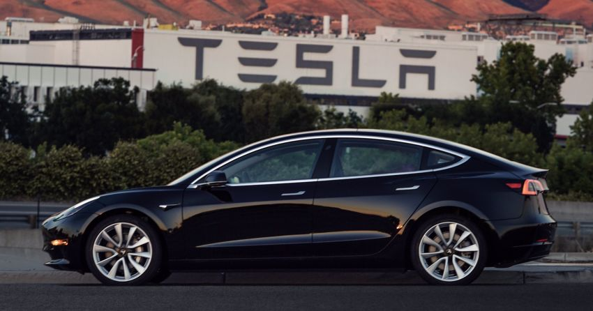Tesla Model 3 production starts, #1 goes to Elon Musk – first pics and video of the Tesla for the masses Image #680375