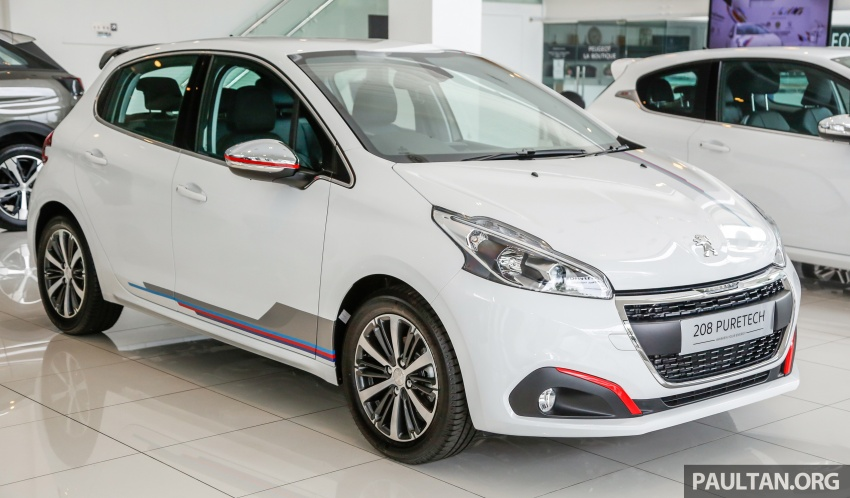 2017 Peugeot 208 gets Pure upgrade pack – RM15.9k Image #699657