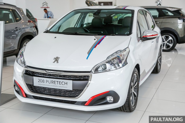 2017 Peugeot 208 gets Pure upgrade pack - RM15.9k