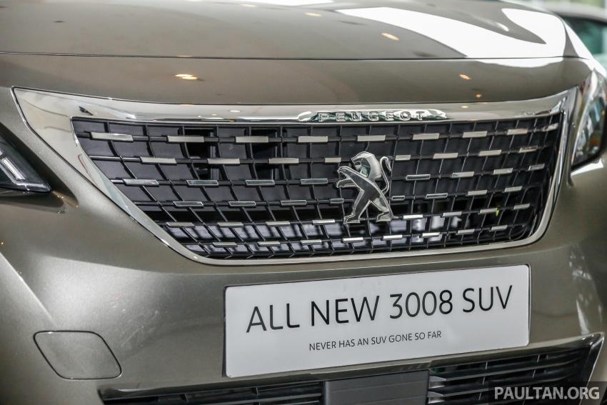 FIRST LOOK: 2017 Peugeot 3008 SUV walk-around Image #699072