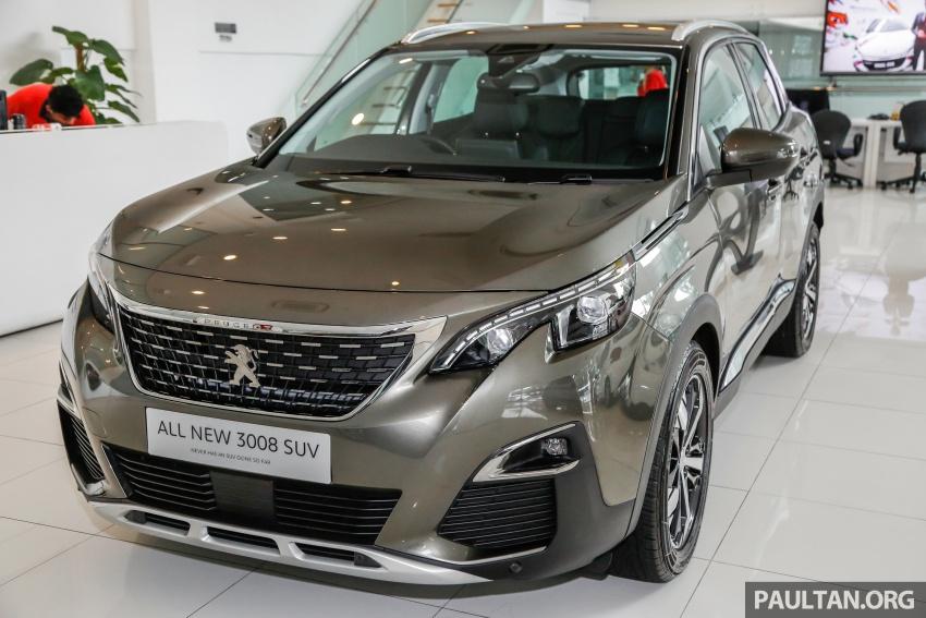 FIRST LOOK: 2017 Peugeot 3008 SUV walk-around Image #699057